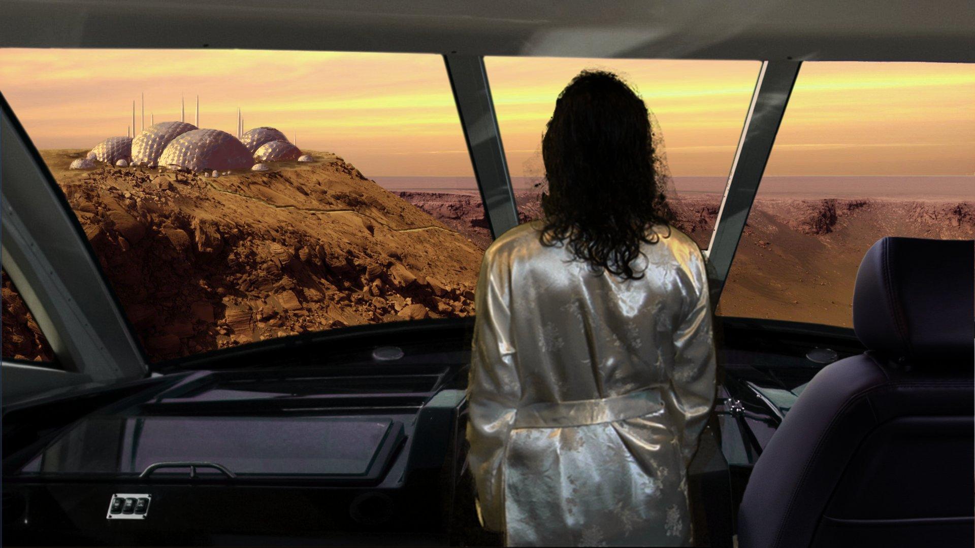 Honeymoon On Mars : matte