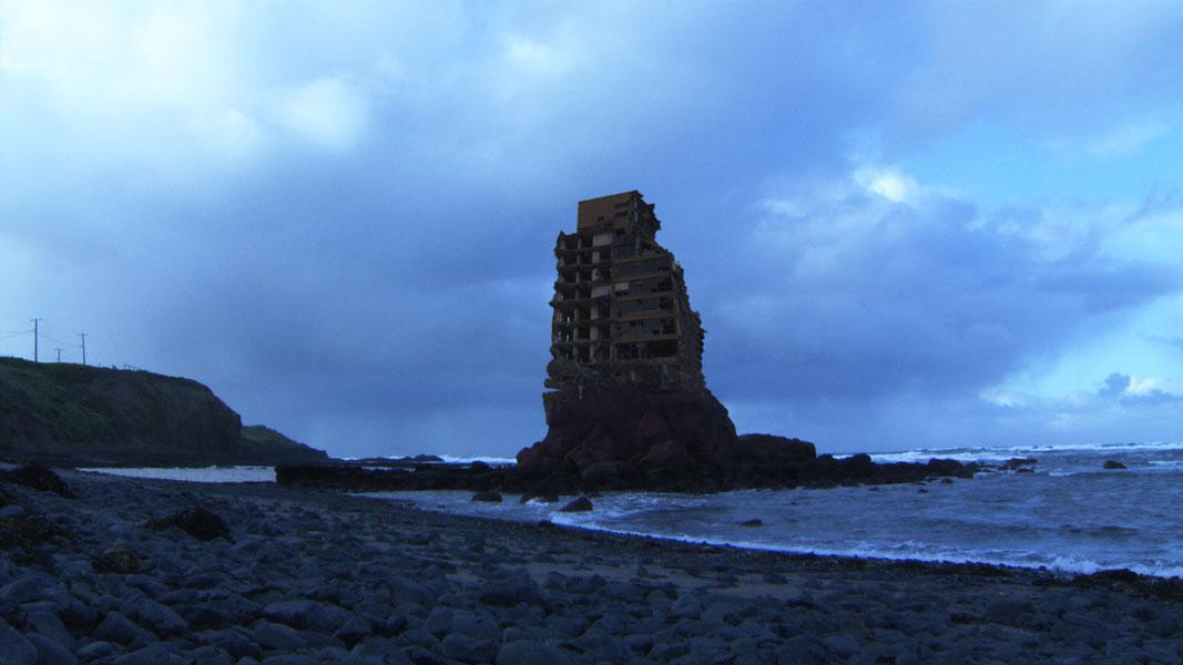 Deep Fry : Tower ruin at sea