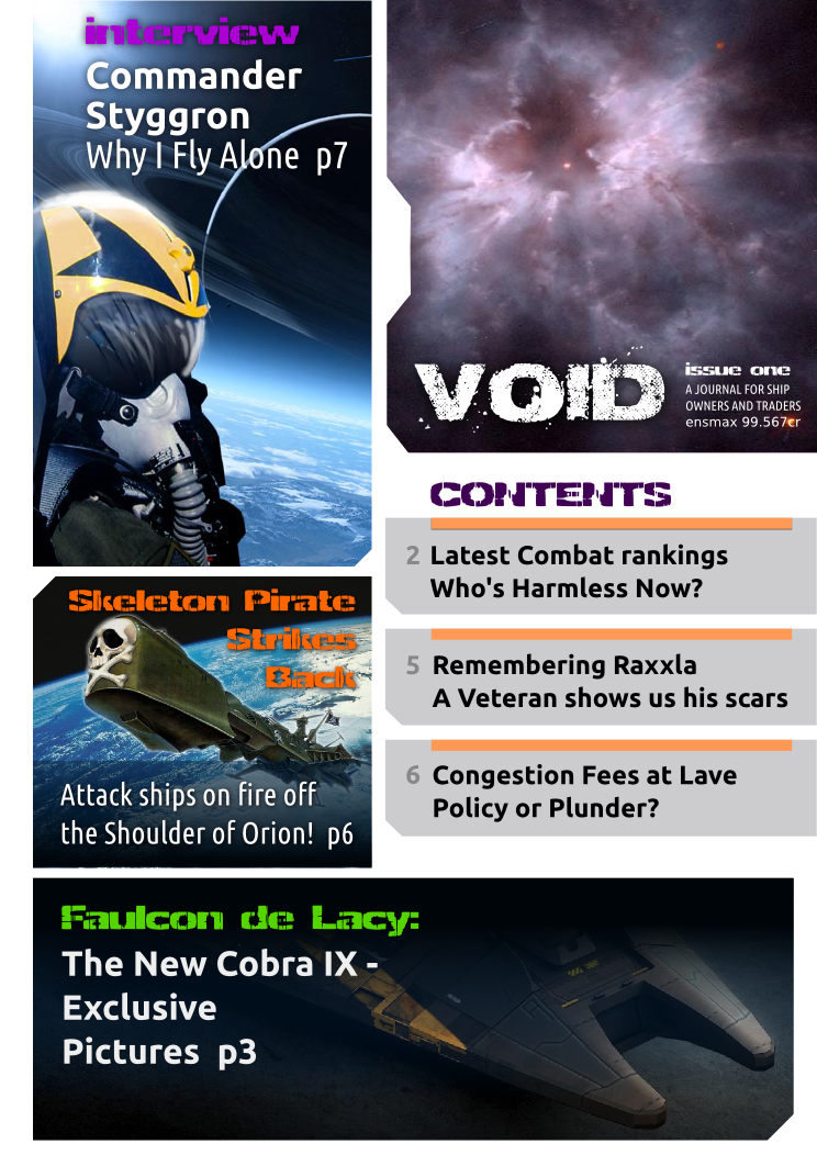 Supermassive : magazine concept